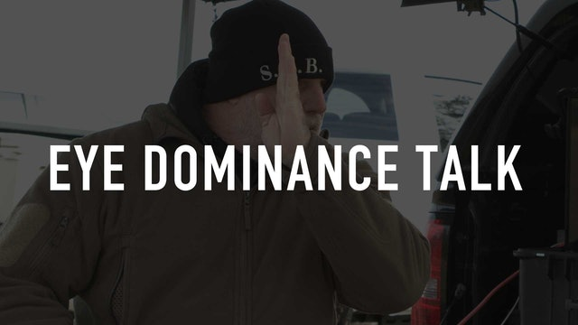 Eye Dominance Talk