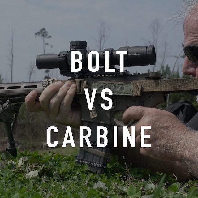 Bolt Guns vs Carbine