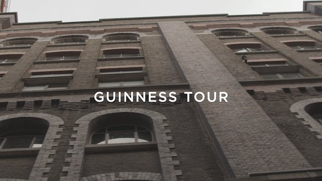 Rangers visit Ireland and tour Guinness