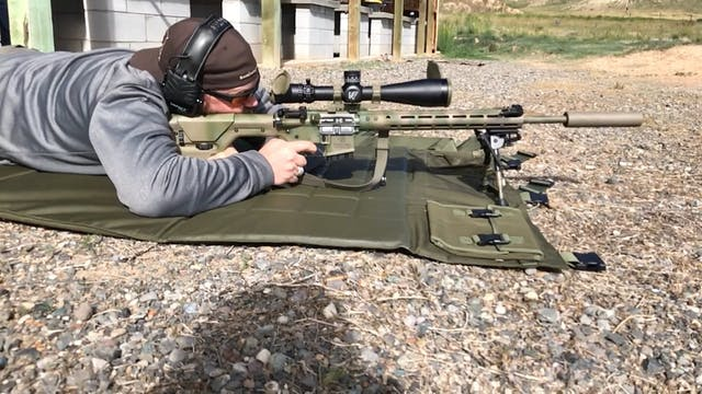 Prone Rifle Position