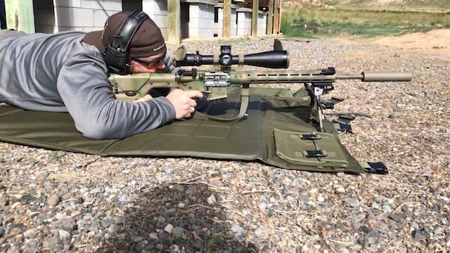 Prone Rifle Position