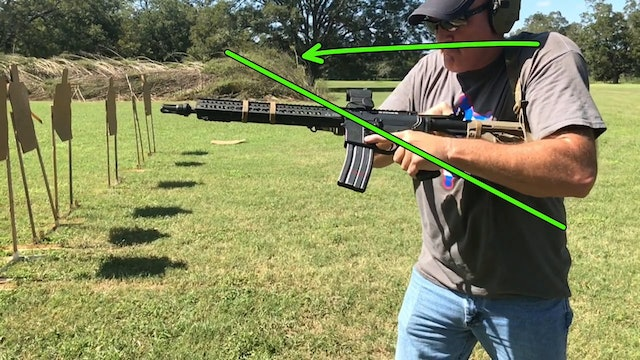 Left Handed Rifle TRB