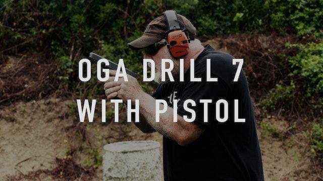 """OGA 7 """"Live Fire"""" Pistol"""