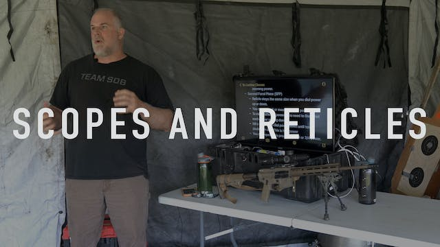 Scopes and Reticles