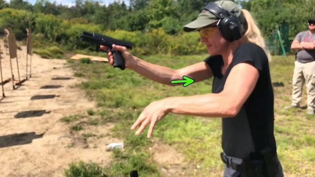 Pistol Reload Hand Assist Method