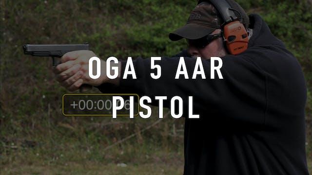 OGA 5 Drill Pistol AAR