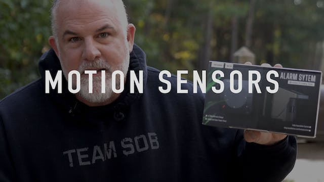Home Defense Motion Sensors