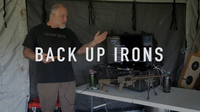 Back Up Irons