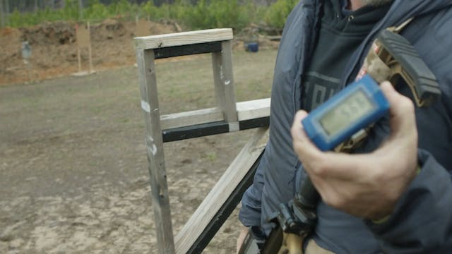 Kneeling Barricade Unsupported Drill