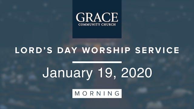 Morning Service   January 19, 2019