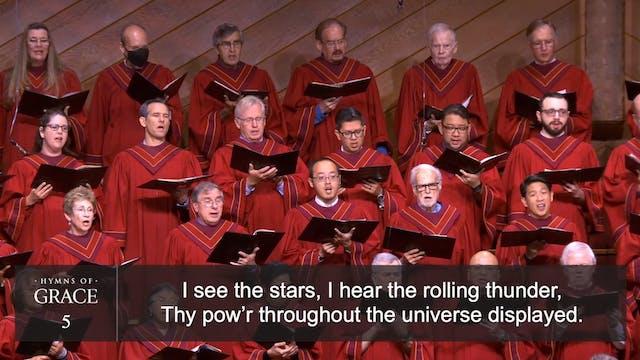 How Great Thou Art (Hymn 5)