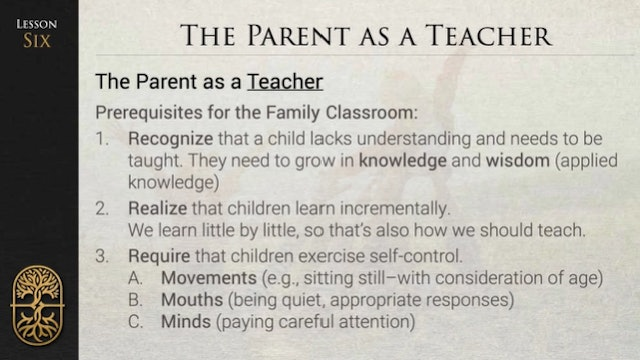 Parenting for Life - L6