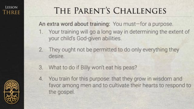 Parenting for Life - L3