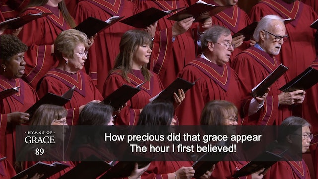 Amazing Grace! How Sweet the Sound (Hymn 89)