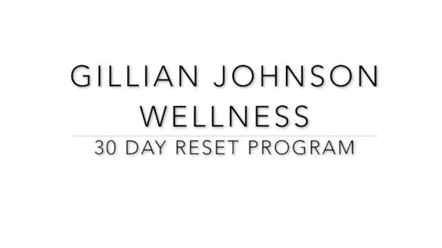 30 Day Reset - Intro