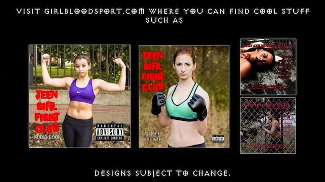 Girl Blood Sport Merchandise Promo