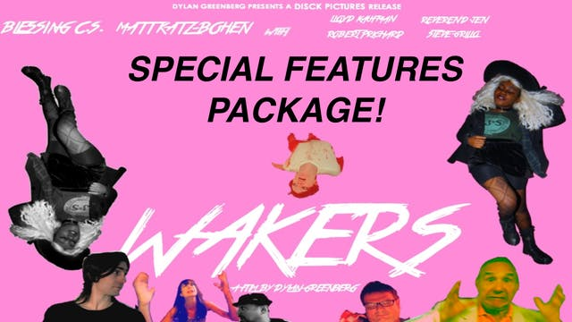 Wakers - MOVIE + SPECIAL FEATURES  BUNDLE