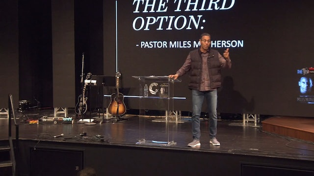 Session 5 - Miles McPherson - Signs and Wonders and Church Growth