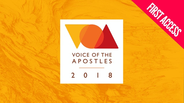 Voice of the Apostles | First Access Package | October 16 – 19, 2018