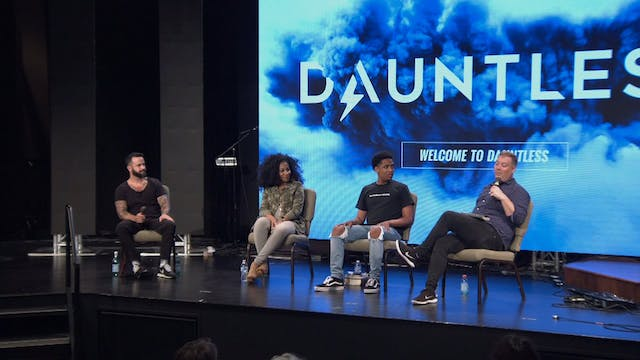 Session 8 - Speaker Q&A - Dauntless July 2019