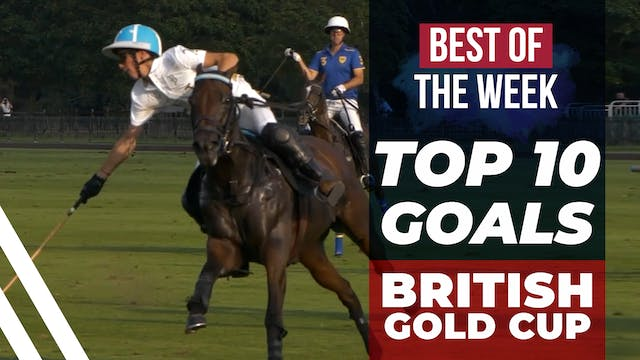 Top 10 Goals of the British Gold Cup