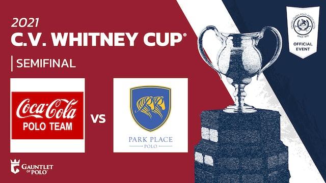 2021 - C.V. Whitney Cup® - Semifinals - Coca Cola vs Park Place