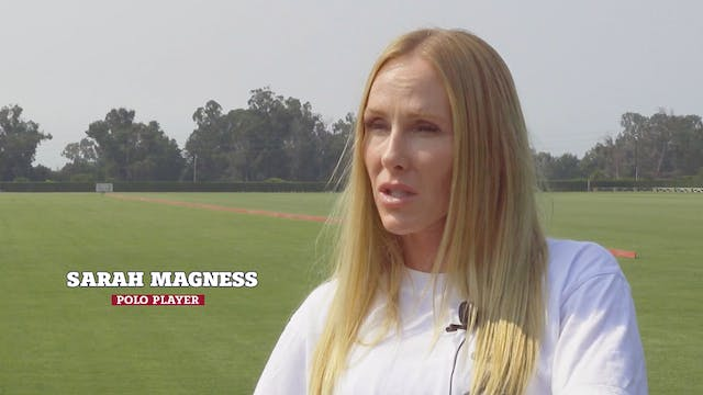 Women in Polo  - Sarah Magness