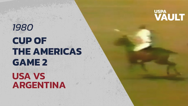 1980 Cup of the Americas - Game 2