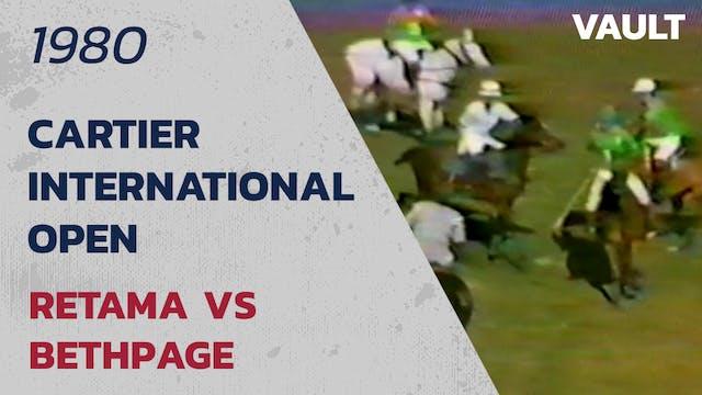 1980 Cartier International Open:  Ret...
