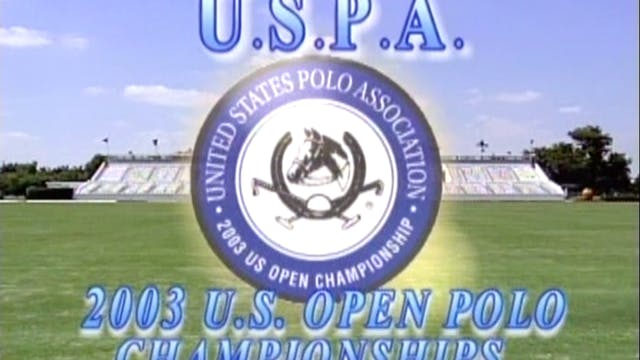 2003 U.S. Open Championship - Final