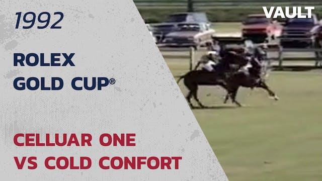 1992 Rolex Gold Cup (semis) Celluar O...
