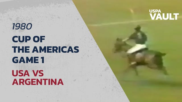 1980 Cup of the Americas  - Game 1