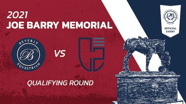 2021 - Joe Barry Memorial - Qualifying rounds - Beverly Polo vs. Santa Clara