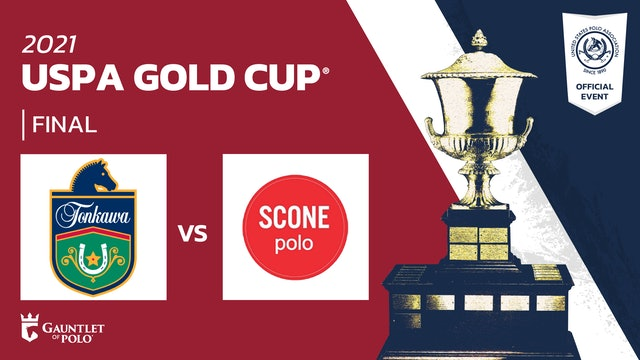 2021 USPA Gold Cup® Final - Tonkawa vs Scone