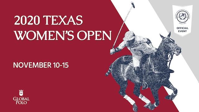 2020 - Texas Women's Open - Semifinal 1 - Polo Gear Coffee Co. vs BTA