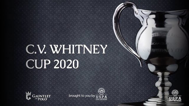 2020 - C.V. Whitney Cup - Semifinal -...
