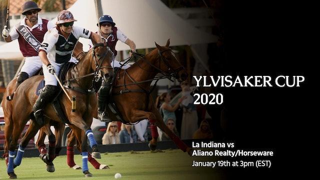 La Indiana vs Aliano Realty/Horseware