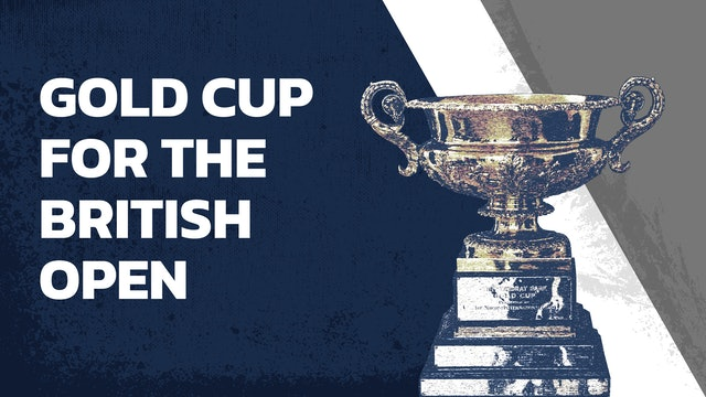 Gold Cup for the British Open
