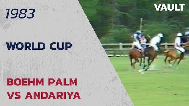 1983 World Cup Boehm Palm vs Anadariya