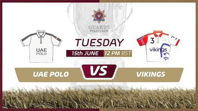 UAE Polo Team II vs Vikings