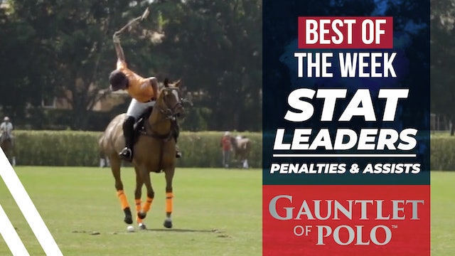 Best of the Week - Stat Leaders (Part 2)