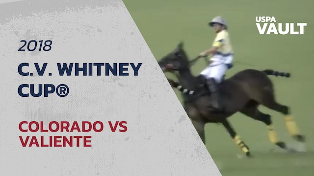 2018 C.V. Whitney Cup® Final