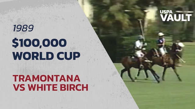1989 World Cup at Palm Beach Polo & Country Club