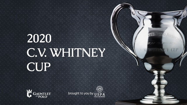 2020 - C.V. Whitney Cup - Bracket III/IV - Postage Stamp Farm vs DRF
