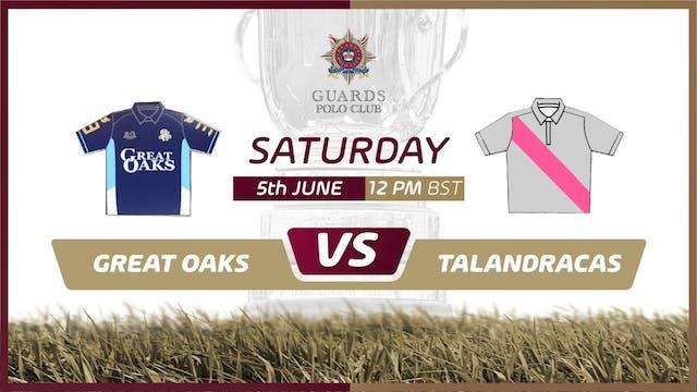 Great Oaks LL vs Talandracas