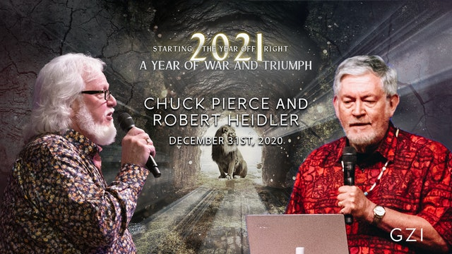 Starting the Year Off Right (12/31): Chuck Pierce and Robert Heidler