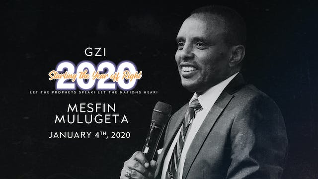 Starting the Year Off Right (01/04): Mesfin Mulugeta
