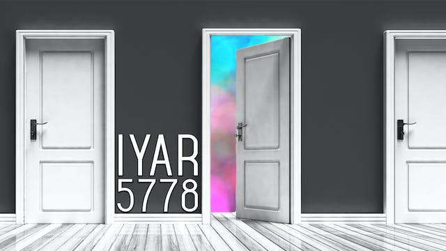 Firstfruits - Iyar 5778 - April 15th,...