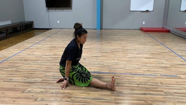 Stretching with Celestine