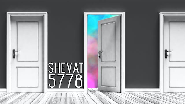 Firstfruits - Shevat 5778 - January 2...